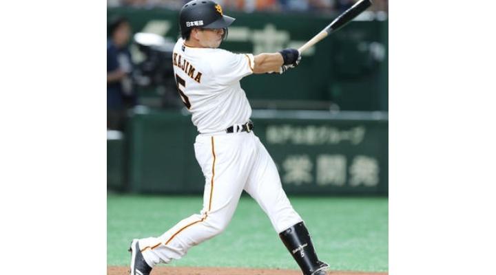 巨人・中島宏之 得点圏打率 .000 (9打数0安打) 打点2  三振6  四球3