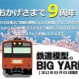 『◆開店9周年のご挨拶とお知らせ◆BIG YARD 中野ブロードウェイ店』の画像