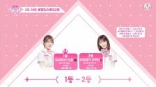 【PRODUCE48】第9話順位発表 1位宮崎美穂 2位宮脇咲良 3位カン・ヘウォン