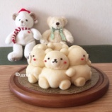 『【満員御礼終了】12、1月特別講師のレッスン umiさんのキャラちぎりパン教室』の画像
