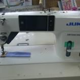 『JUKI製DDL-9000CFMS(ダイレクトドライブ高速本縫い自動糸切りソーイングシステム)をお買上げいただきました!』の画像