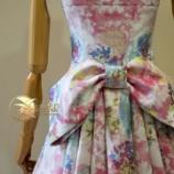 『店頭バックプリーツドレスが完成しました。』の画像