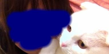 【画像】ウチの猫と2ショット撮ったったwwww