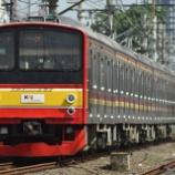『【8連なのに新仕様】205系埼京線ハエ24編成暫定8連化』の画像