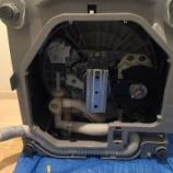 『大阪府枚方市 洗濯機水漏れ修理 -洗濯排水ホース水漏れ-』の画像