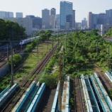 『休止中の東海道貨物線(大汐線)と羽田空港アクセス線』の画像