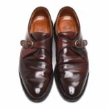 『靴育 | ALDEN 954 コードバンモンク』の画像