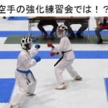 『空手の強化練習会では!?』の画像