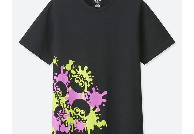 【売切れ間違いなし】ユニクロ,「スプラトゥーン」デザインのTシャツを4月22日に発売