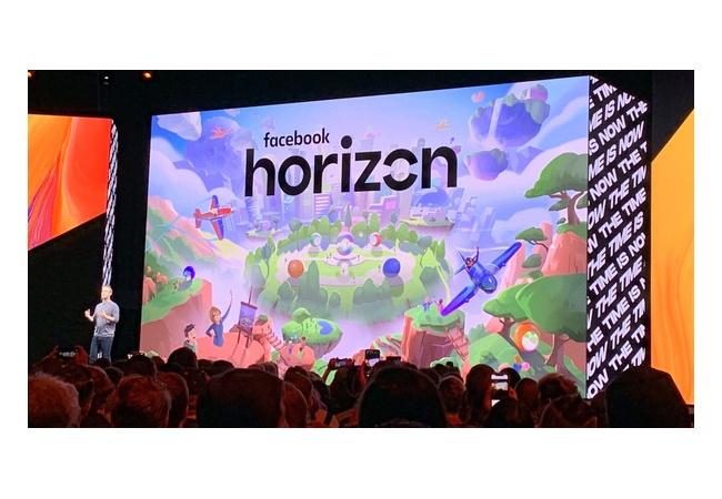 """Facebook「VRに社運をかける。新作ゲーム""""Horizon""""は開発費500億、ゲームというより第2の世界」"""