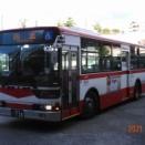 宮城交通 1台しかしない京成から移籍したリーフサスのニューエアロスターワンステ