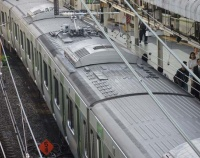 『JR東日本 E235系量産先行編成が2度目の変身』の画像