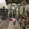ソナダにて、回送列車 Darjeeling
