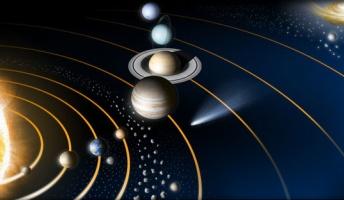 彡(゚)(゚)「・・・・・・太陽系?」 (´・ω・`)「うん、太陽系のこと教えてよ。」
