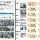 『小田急電鉄「複々線完成 記念乗車券・入場券」発売』の画像