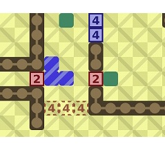 ブロック一体化スライドパズル Slide Together