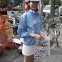 2001年当時のキャンペーンガール達(秋葉原など)