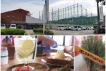 星田ゴルフセンター内に新しくオープンした「星の丘カフェ」でレモンたっぷりの自家製レモンスカッシュとかいろいろ注文してみた!
