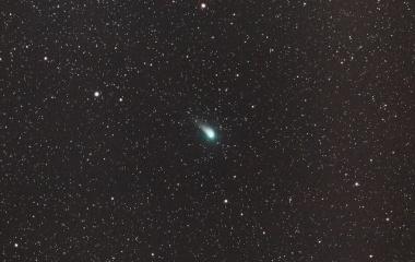 『あたかも蛍の様なジョンソン彗星(C/2015 V2)』の画像