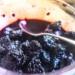 自家製マルベリーを使った朝食