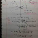 『2016年名古屋大学理系数学2番【数Ⅱ・数Ⅲ】円上の点を極座標で設定するとこんなに簡単なんだ!って喜びにあふれる基本問題。』の画像