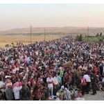 アメリカがシリア難民を1万人受け入れる模様