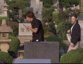 「HERO」最終回で木村拓哉と北川景子の背景に「古館家」「竹内家」と書かれた墓が映る