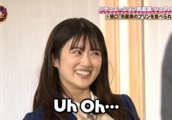 ちょw 樋口日奈、某ゆるキャラのような目になってしまう・・・