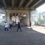 2014.04.27の高架下「円の動きから先手」のサムネイル