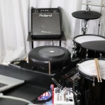 ドラムと自分と。