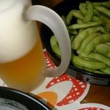 『ビールと枝豆^^』の画像