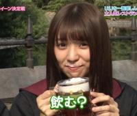 【欅坂46】バタービール飲んでるゆいぽん可愛すぎ!これは優勝!【欅って、書けない?】