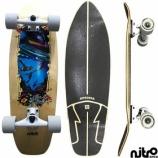 『サーフスケート NitroSK8 スケートボード コンプリート Sirena(セレナ)』の画像