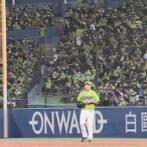 【ヤクルト対中日23回戦】引退表明の五十嵐が現役最終登板!シエラをサードゴロに打ち取る!!!!!!!!!!!