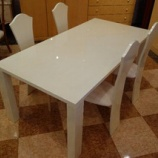 『【松創】住賓館設定のオリジナルシカモアミガキ仕様のダイニングテーブル』の画像
