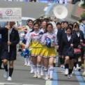2018年横浜開港記念みなと祭国際仮装行列第66回ザよこはまパレード その43(横浜市立金沢高等学校バトントワリング部WINNERS)