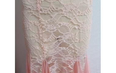 『ベリーダンス衣装 インナーの透けが気になるならスカートをプラス!』の画像