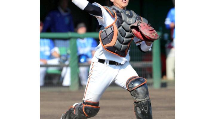 巨人、育成24歳捕手・田中貴也、支配下登録有力!