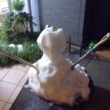 『雪ダルマ』の画像
