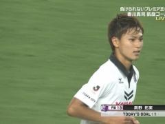 1G1AのC大阪MF南野「ゲームで使っているような選手と対戦できた」