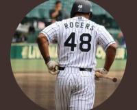 【朗報】元阪神ロジャースのTwitterアイコン、未だに阪神時代の画像