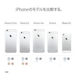 『iPad Pro、iPhone 6s、iPhone 6s Plusの比較記事って、アップルのサイトを見るのが詳しくて分かりやすい。』の画像