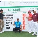『2015年期待の新人、堀川未来夢(ほりかわみくむ)プロが大活躍!(男子プロゴルフ)』の画像