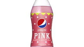 「華やかなピンクのコーラ」…ペプシがいちごミルク風味の「ピンク」発売