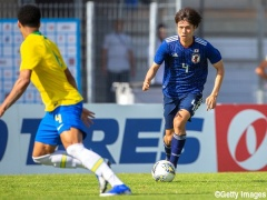 日本人選手のみでブラジル代表を撃破したU22サッカー日本代表