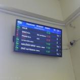 『チェコ旅行記26 なかなか来ないチェコの列車、クトナー・ホラ駅で待ち惚け』の画像