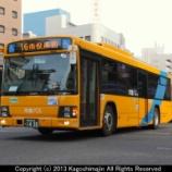 『鹿児島市交通局 いすゞエルガ QPG-LV234N3/JBUS』の画像