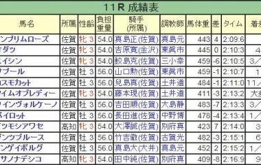 『ドンプリムローズが人気に応え逃げ切りV/九州ダービー栄城賞・佐賀』の画像
