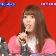 松村沙友理、アメリカンドッグの食べ方がエロ過ぎて放送事故!?[GIF・画像・動画あり] アイドルファンマスター