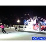 『フォルクスワーゲン スケートリンク in 東京ミッドタウン』の画像